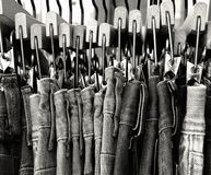 Blue jeans royalty free stock images