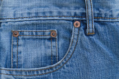 Blue Jeans. Royalty Free Stock Photography
