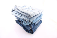Blue jeans. Part of your clouth Stock Image