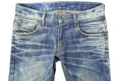 Blue jeans Fotografie Stock