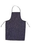 Blue jeans apron Royalty Free Stock Photography