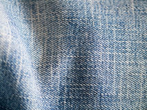 Blue jeans as background Royalty Free Stock Images