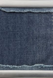 Blue jeans as background. Texture Royalty Free Stock Photography