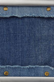 Blue jeans as background Stock Images