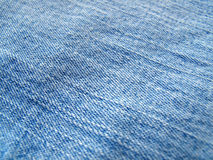 Blue jeans background Royalty Free Stock Photos