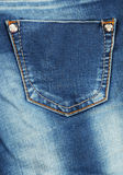 Blue jeans background. close up Stock Images