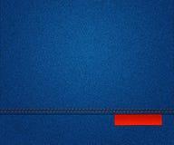 Blue Jeans-Beschaffenheit lizenzfreie abbildung