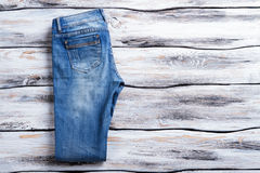 Blue jeans casuali Immagine Stock