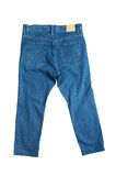 Blue jeans close up Stock Images