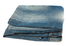 Blue jeans close up Stock Image