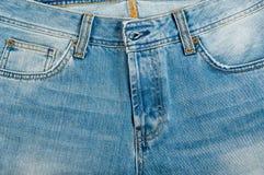 Blue jeans close-up. Blue jeans close up photo Royalty Free Stock Photo