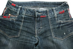 Blue jeans Stock Photos