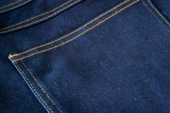 Blue Jeans Closeup Texture Background royalty free stock photos