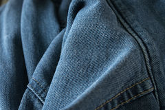 Blue Jeans Closeup Texture Background stock photography