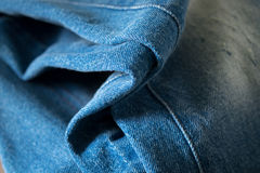 Blue Jeans Closeup Texture Background stock photos