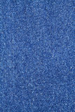 Blue jeans cloth as background closeup Royalty Free Stock Photo
