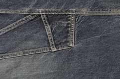 Blue jeans cloth background Stock Photography