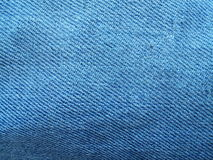 Blue jeans. Colorful blue jeans texture Royalty Free Stock Photography
