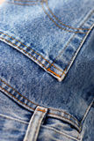 Blue jeans denim Royalty Free Stock Images