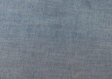 Blue jeans denim fabric Stock Photos