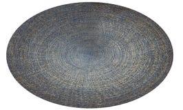 Blue Jeans, Denim in Form von Kreis Stockfoto