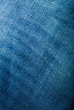 Blue jeans denim macro image of the fabric Stock Images