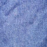 Blue Jeans-Denim-Textilbeschaffenheit Lizenzfreie Stockfotografie