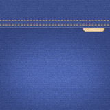 Blue jeans denim textile texture Royalty Free Stock Photo