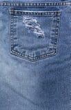 Blue Jeans-Designhintergrund Stockbilder