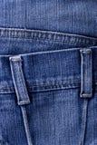 Blue jeans detail Stock Photos
