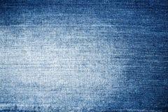 Blue jeans di struttura Fotografia Stock