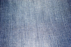 Blue jeans fabric Royalty Free Stock Image