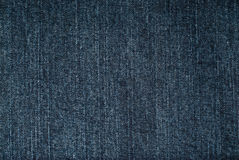 Blue jeans fabric Stock Photography