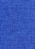 Blue jeans fabric Royalty Free Stock Photos