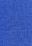 Blue jeans fabric background Royalty Free Stock Photos