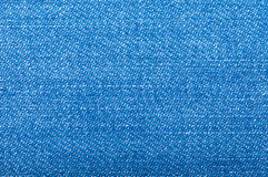 Blue jeans fabric with texture Stock Photo