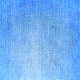 Blue jeans fabric texture Royalty Free Stock Image