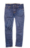 Blue Jeans getrennt Stockbild