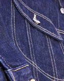 Blue Jeans,Jacket pocket Stock Images