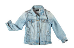Blue jeans jacket Stock Photo