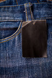 Blue jeans, jeans texture. Stock Image
