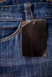 Blue Jeans, Jeansbeschaffenheit Stockbild