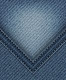 Blue Jeans mit Winkel vektor abbildung