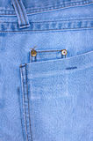 Blue jeans outerwear (clothes). Stock Photo