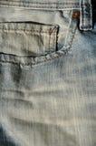 Blue jeans pocket Stock Photos