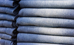 Blue jeans Stock Photography