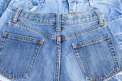 Blue Jeans-Tasche Lizenzfreie Stockfotografie