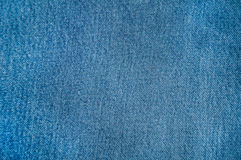 Blue jeans textile background Royalty Free Stock Images