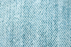 Blue jeans textile Royalty Free Stock Photos