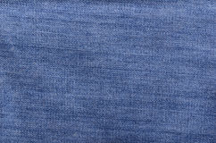 Blue jeans texture Royalty Free Stock Photography